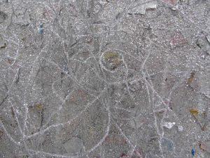 "The Ruins (detail), 2009  60"" x 60"""