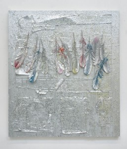 "Atmosphere Vanishing Point (Flight), 2011, 36""x32"""