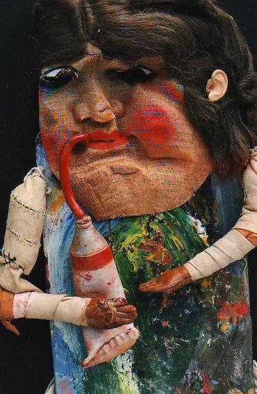 Three Women Artists (Detail)