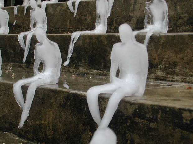Melting Men (detail), Nele Azevedo