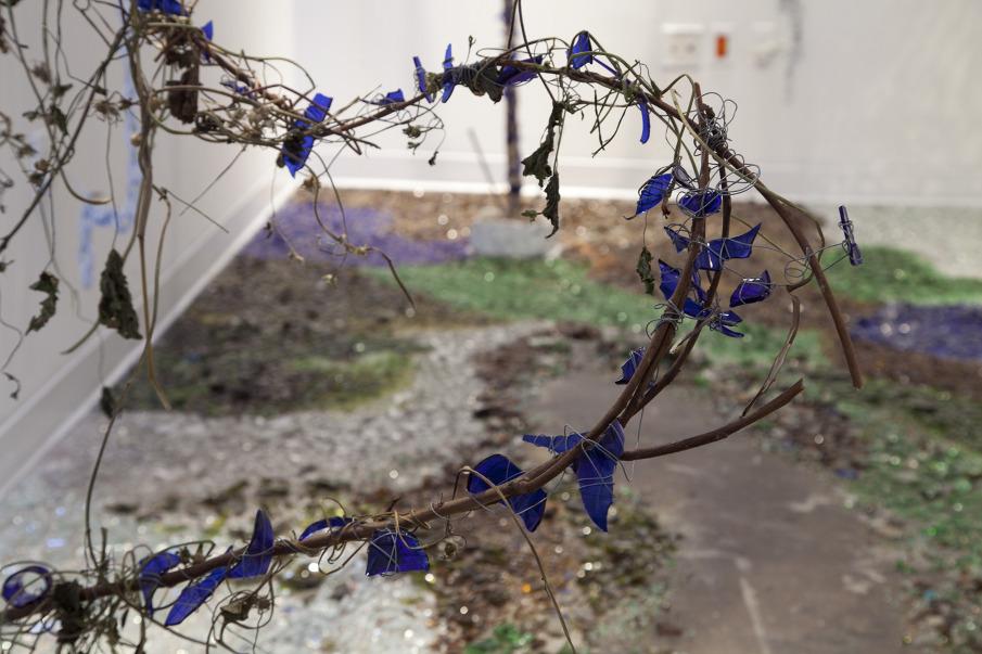 Sidewalk Devolution, by Sarah Bisceglie, http://www.sarahbisceglie.com/