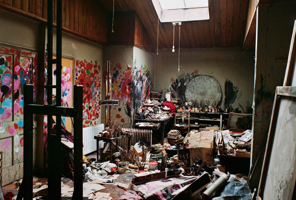 Francis Bacon Studio, Dublin, Ireland.