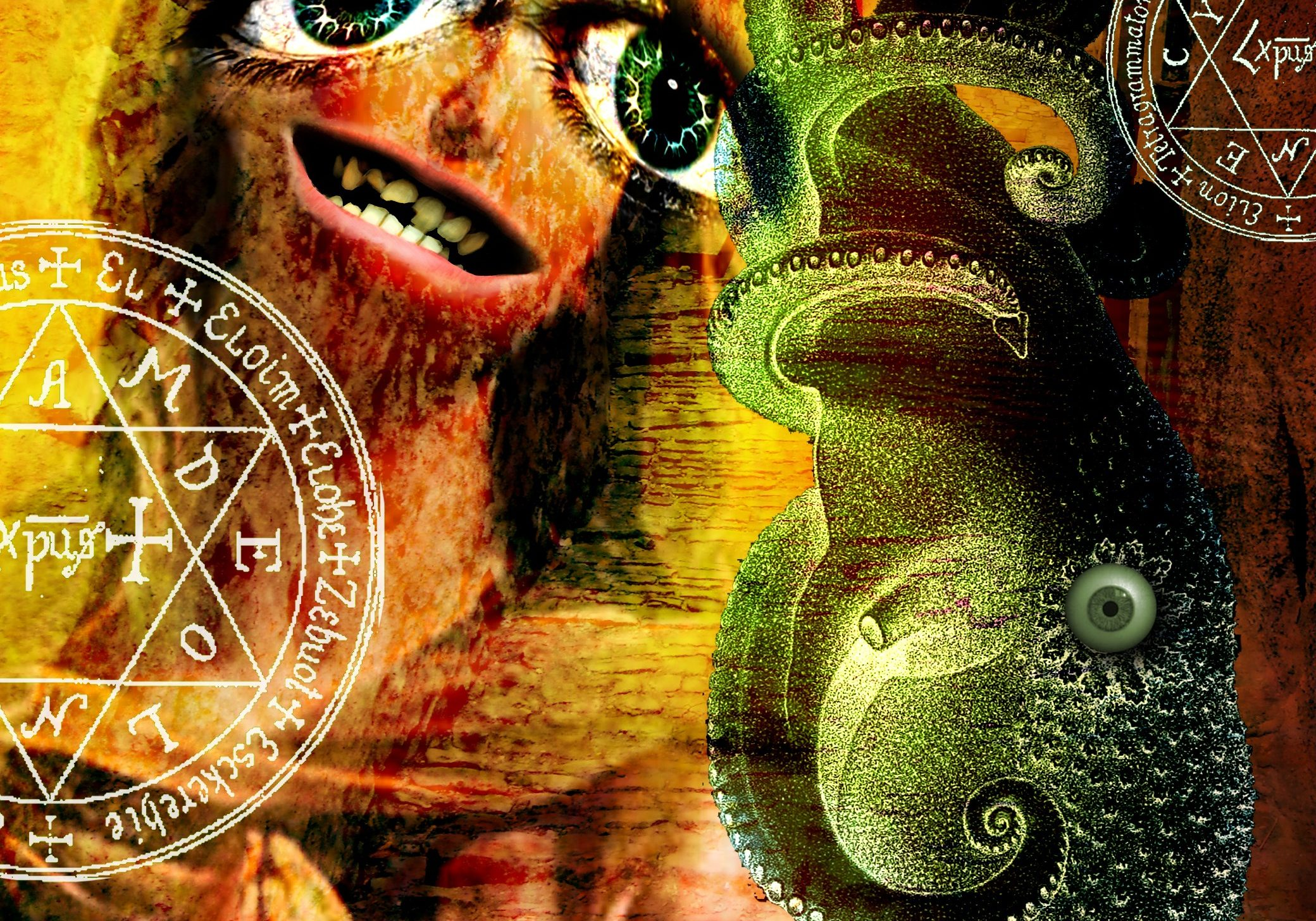 """Milanese Soothsayer,"" illustration by Adam Myers"