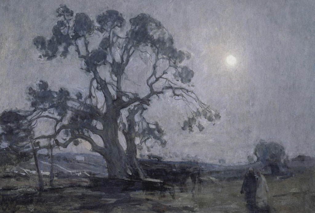 "Henry Ossawa Tanner, ""Abraham's Oak,"" 1905, oil on canvas."